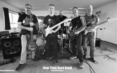 Overtime Rock band at the Red Lion