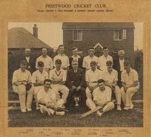 Prestwood Cricket Club 1932/3 - Original image