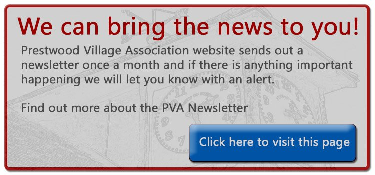 Newsletter for Prestwood Village Association