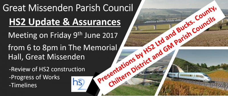 GMPC HS2 update and assurances poster