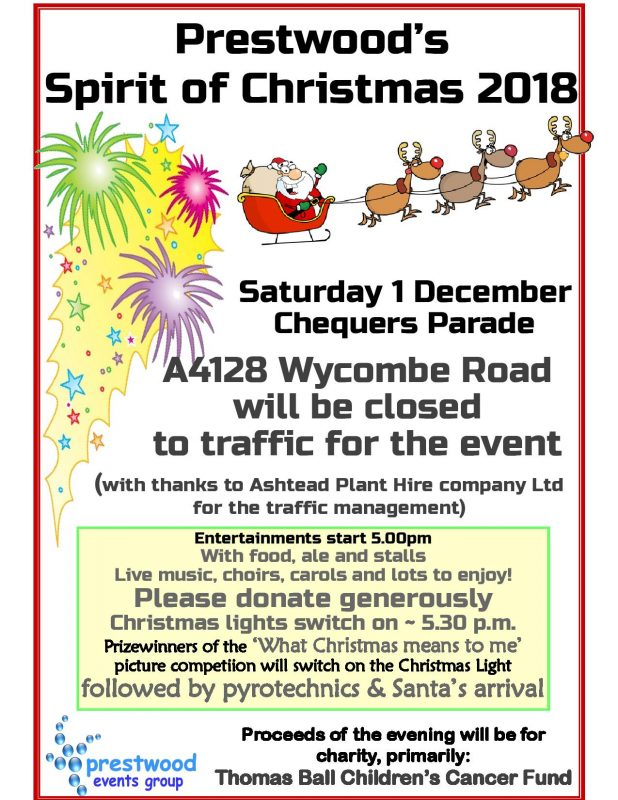 A must do event for all the family! 5 pm on December 1